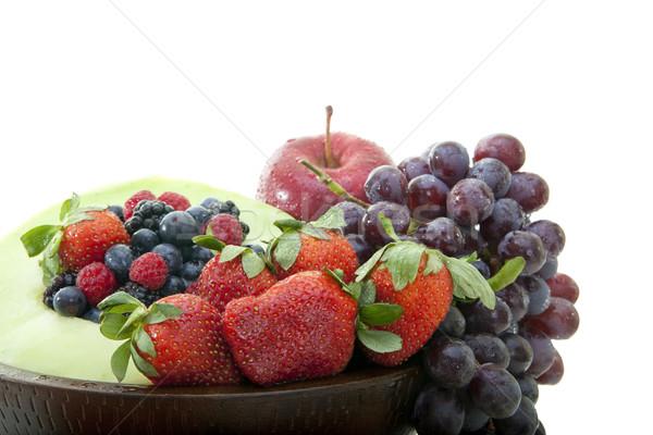 Frutas frescas saúde almoço jantar melão Foto stock © elvinstar