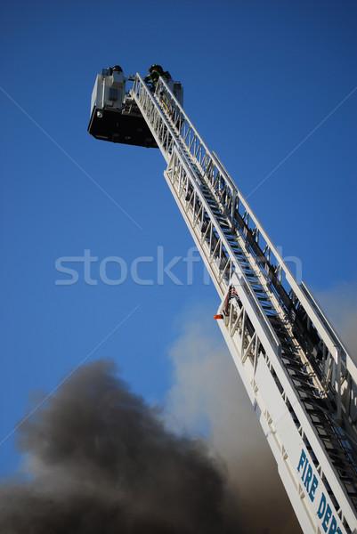 Fight the fire Stock photo © elvinstar