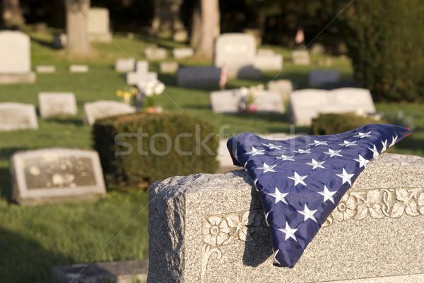 Fallen hero Stock photo © elvinstar
