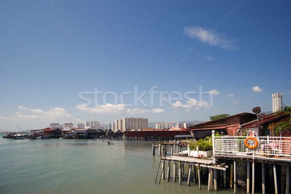 Pier Stock photo © elwynn