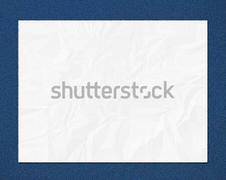 blank paper Stock photo © elwynn