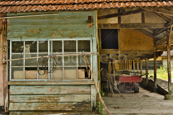 Old ruined house Stock photo © elwynn