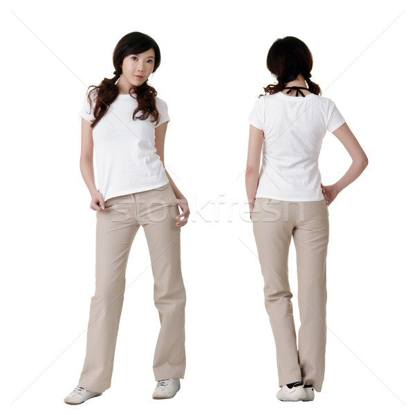 blank white shirt Stock photo © elwynn