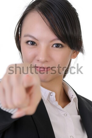 Stock photo: Business woman