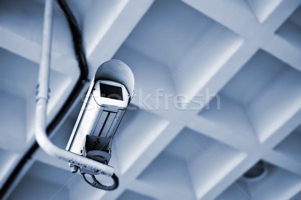 Telecamera di sicurezza video moderno edifici città Foto d'archivio © elwynn