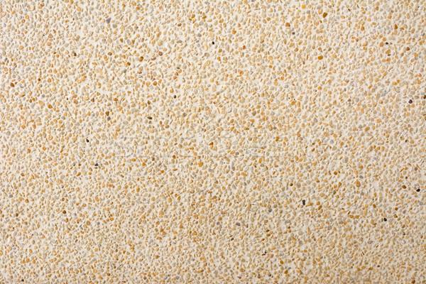Pared textura minúsculo piedras primer plano fondo Foto stock © elwynn