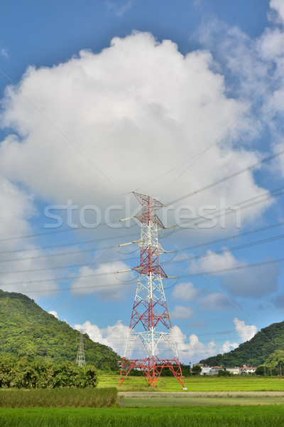 Electronic tower Stock photo © elwynn