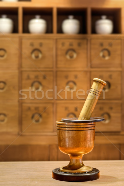 Chinese medicine Stock photo © elwynn