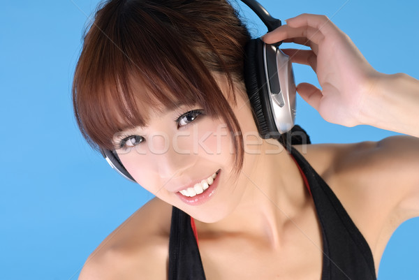 Gorgeous Asian woman Stock photo © elwynn