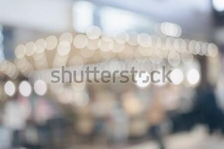 Abstract poco profondo ufficio costruzione città Foto d'archivio © elwynn