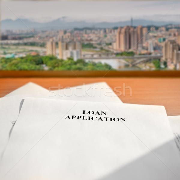 Loan application Stock photo © elwynn