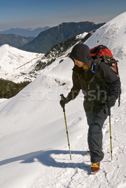 Mountaineer Stock photo © elwynn