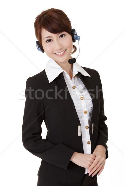 Asian secretary woman Stock photo © elwynn