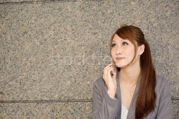 Asian business woman Stock photo © elwynn