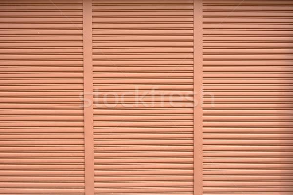 коричневый жалюзи окна текстуры здании стены Сток-фото © elwynn