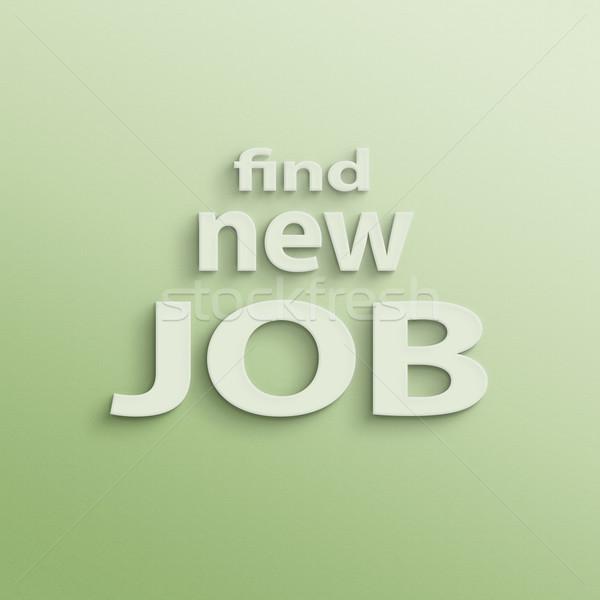 find new job Stock photo © elwynn