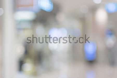 Soyut kentsel bulanık binalar sokak sığ Stok fotoğraf © elwynn