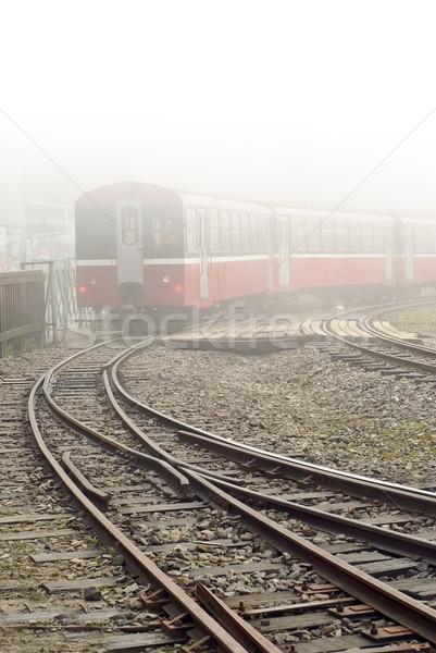Train and railway Stock photo © elwynn