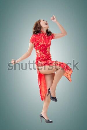 Chinese woman Stock photo © elwynn