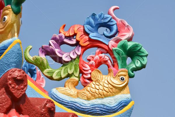 Fish traditional decoration Stock photo © elwynn