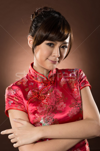 Attractive Chinese woman Stock photo © elwynn