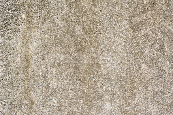 Old washed granolithic finish wall Stock photo © elwynn