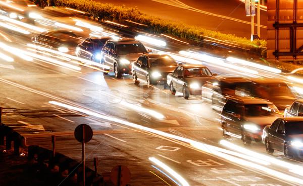 cars and light Stock photo © elwynn