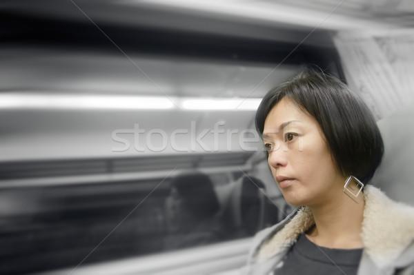 Mature Asian woman Stock photo © elwynn