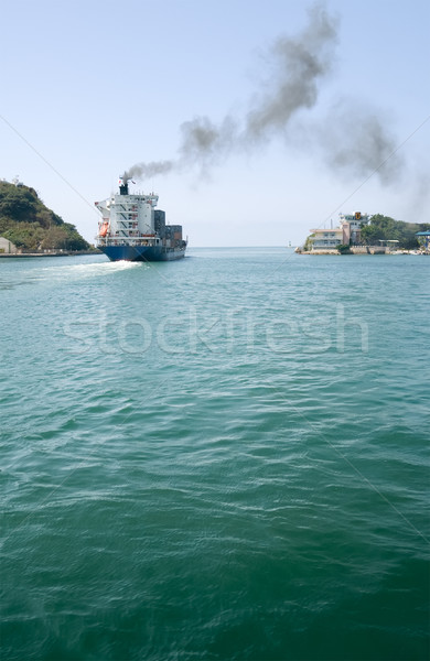 Freighter Stock photo © elwynn