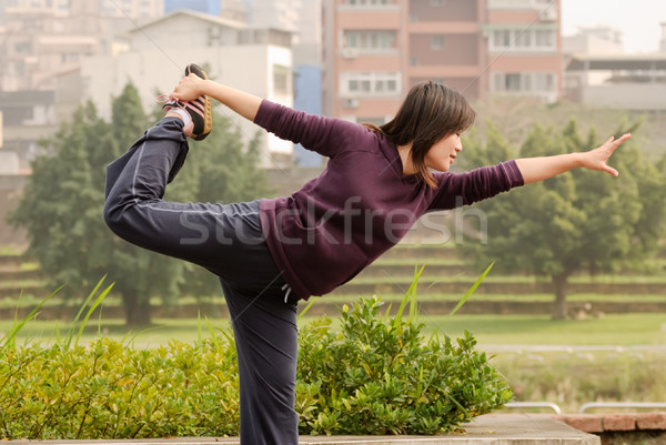 Yoga excise  Stock photo © elwynn