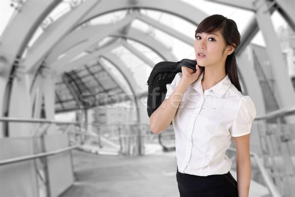 Attractive business woman Stock photo © elwynn