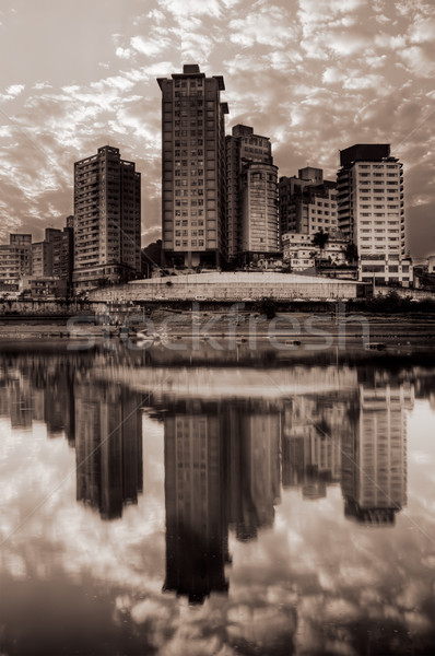 Cityscape of building Stock photo © elwynn