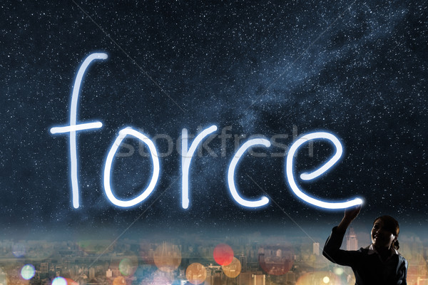 Concept of force Stock photo © elwynn