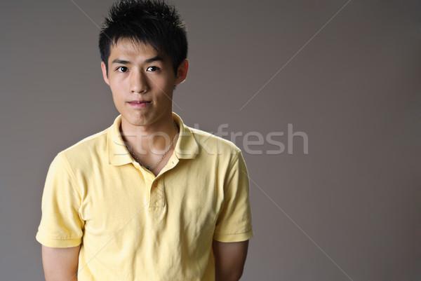 Handsome man of Asian Stock photo © elwynn