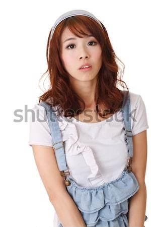 Sad girl Stock photo © elwynn