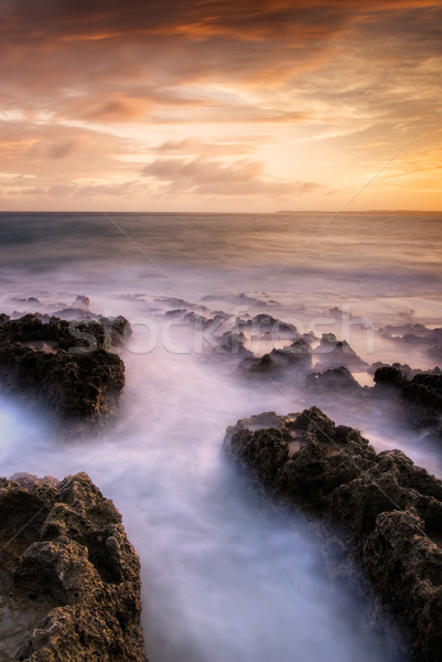 affecting landscape of sunset Stock photo © elwynn