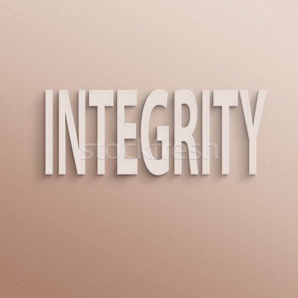 integrity  Stock photo © elwynn