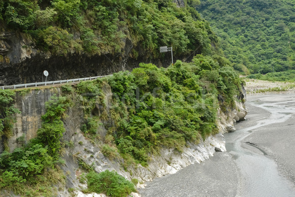 Road in Taroko National Park Stock photo © elwynn