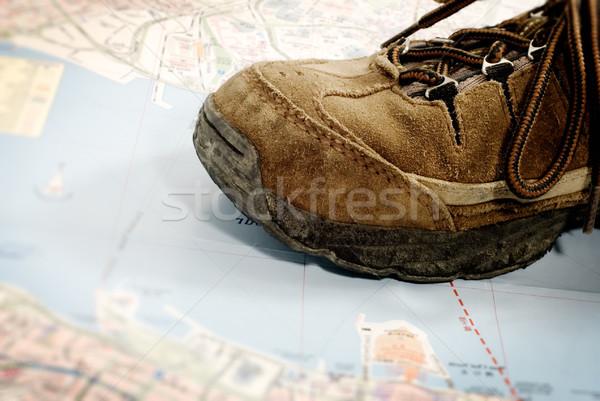 старые обувь Мир только один Сток-фото © elwynn