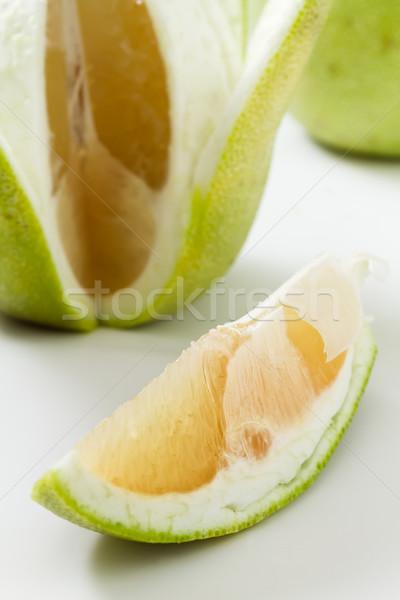 Fresh pomelo Stock photo © elwynn