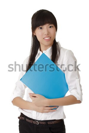 Stock photo: young business woman