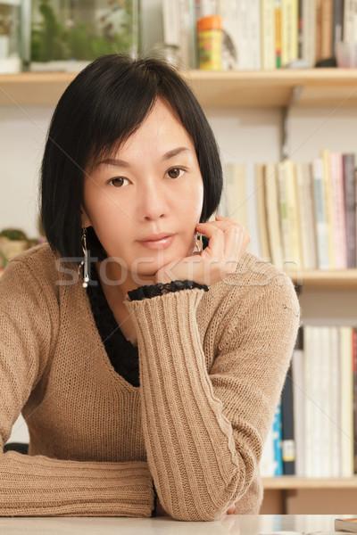 Asian mature woman Stock photo © elwynn