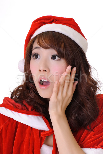Christmas girl Stock photo © elwynn