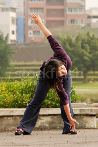 Woman excise Stock photo © elwynn