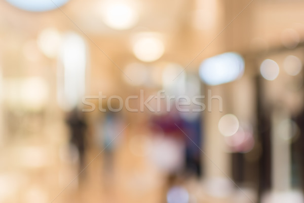 Abstract background of shopping mall Stock photo © elwynn