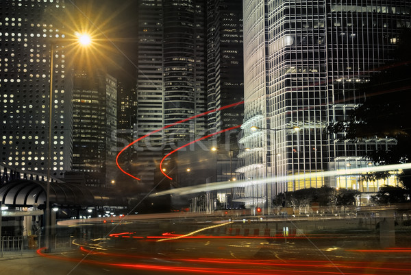 Business buildings Stock photo © elwynn