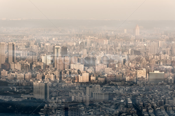 Mist city Stock photo © elwynn