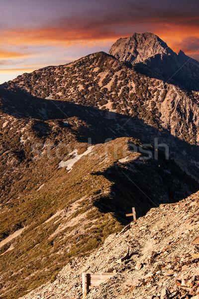 Mt Yushan Stock photo © elwynn