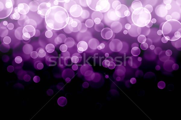 Bokeh abstrato luz fundo espaço estrelas Foto stock © elwynn