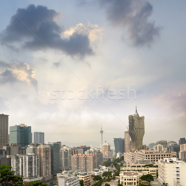 City skyline Stock photo © elwynn